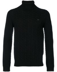 Sun 68 - Cable Knit Sweater - Lyst