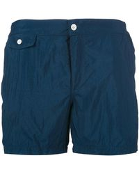 Incotex | Flap Pocket Swimshorts | Lyst