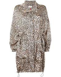L'Autre Chose - Leopard Print Coat - Lyst