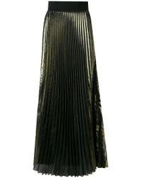 Galvan | High-waisted Pleated Maxi Skirt | Lyst