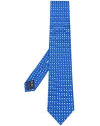 Ferragamo - Fish Print Tie - Lyst