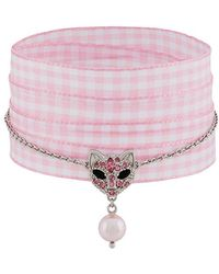 Miu Miu - Cat Charm Bracelet - Lyst