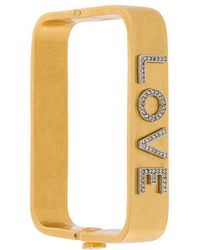 Tory Burch | Love Square Bangle | Lyst