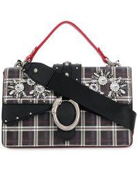 Liu Jo - Darsena Embellished Check Bag - Lyst
