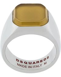 DSquared² - Square Ring - Lyst