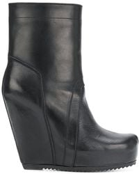 Rick Owens - Wedge Boots - Lyst