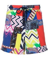 mixed print swim shorts - Multicolour Etro Buy Cheap Big Discount Sale Amazon E5axYgTn