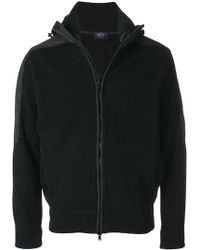 Paul & Shark - Knitted Hooded Jacket - Lyst
