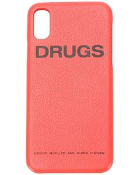 Raf Simons - Drugs Iphone X Case - Lyst