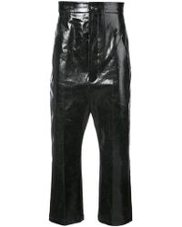 Rick Owens - High-waisted Trousers - Lyst