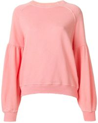 The Great - Puff Sleeved Jumper - Lyst