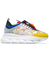 Versace - Sneakers stampate Chain Reaction - Lyst