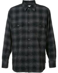 Saint Laurent - Classic Checked Shirt - Lyst