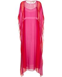 DHELA - Kaftan Long Dress - Lyst