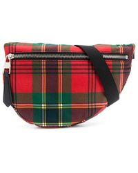 Alexander McQueen - Tartan Print Belt Bag - Lyst