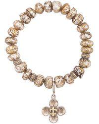 Loree Rodkin - Floral Charm Bracelet - Lyst