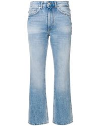 Mauro Grifoni - Cropped Flared Jeans - Lyst