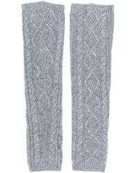 Pringle of Scotland - Cable Knit Wrist Warmers - Lyst