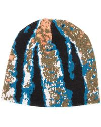 Baja East | Abstract Tiger Stripe Beanie | Lyst