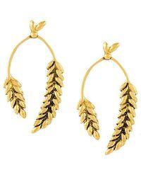 Aurelie Bidermann - 'wheat' Earrings - Lyst