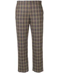 Antonio Marras - Plaid Tailored Trousers - Lyst
