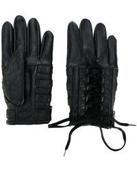 KTZ - Lace-up Biker Gloves - Lyst