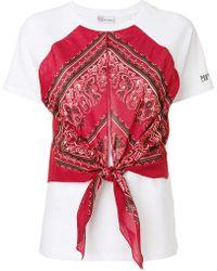 RED Valentino - Bandana T-shirt - Lyst