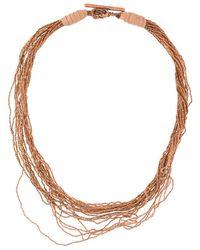 Fabiana Filippi - Multi Strand Necklace - Lyst
