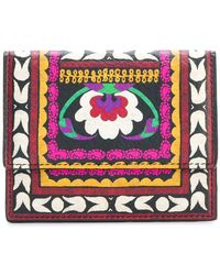 Etro | Printed Press-stud Fastening Wallet | Lyst