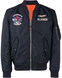 Polo Ralph Lauren - Pilot Bomber Jacket - Lyst