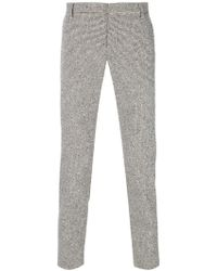 Entre Amis - Houndstooth Trousers - Lyst