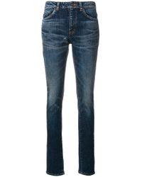 Saint Laurent - Classic Skinny-fit Jeans - Lyst