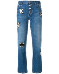 Each x Other - Button Patch Jeans - Lyst
