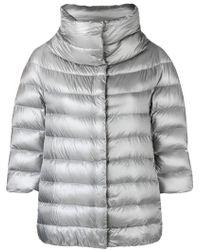 Herno - Zipped Padded Jacket - Lyst
