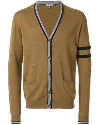 Lanvin - Contrast Stripe-trimmed Cardigan - Lyst