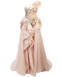 Marchesa - Langes Abendkleid - Lyst