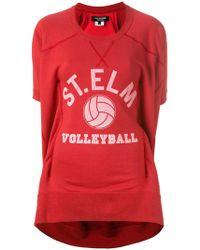 Junya Watanabe - Printed Sweat T-shirt - Lyst