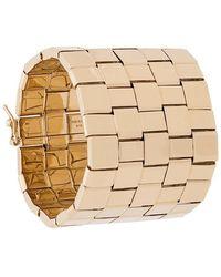 Chloé - Woven Cuff Bracelet - Lyst