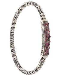 John Hardy - Classic Chain Station Bracelet - Lyst