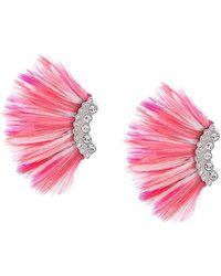 Mignonne Gavigan - Crystal Embellished Wing Earrings - Lyst