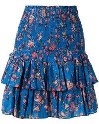 Étoile Isabel Marant - Floral-print Skirt - Lyst