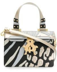 Giancarlo Petriglia - Patterned Box Shoulder Bag - Lyst