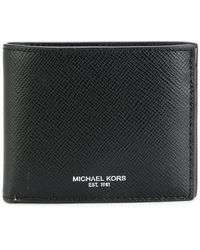 Michael Kors | Logo Stamp Billfold Wallet | Lyst