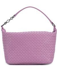 Bottega Veneta - Twilight Intrecciato Nappa Small Shoulder Bag - Lyst
