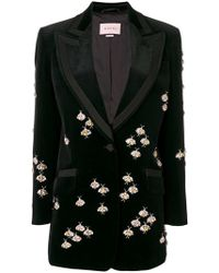 Gucci - Crystal Bugs Embellished Jacket - Lyst