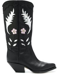 Buttero - Western Ankle Boots - Lyst