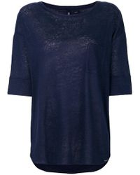 loose fit T-shirt - Blue Woolrich Geniue Stockist For Sale Low Price Free Shipping Best Place DBNLu5N