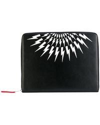 Neil Barrett - Lightning Print Wallet - Lyst