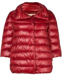 dbe5a6056da Moncler Phalangere Feather Down Coat in Green - Lyst