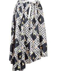 Astraet | Lattice Print Skirt | Lyst